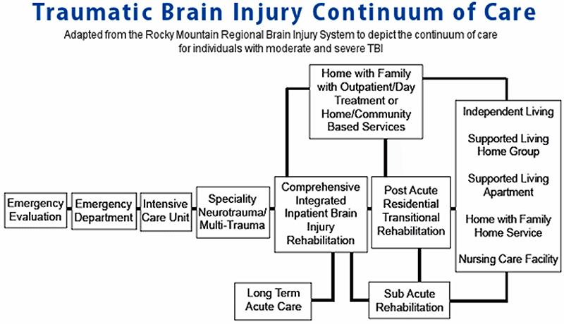 traumatic brain injury continuum of care